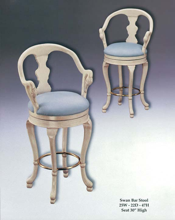 Terrific Swan Barstool Hammer Fine Furniture Lamtechconsult Wood Chair Design Ideas Lamtechconsultcom