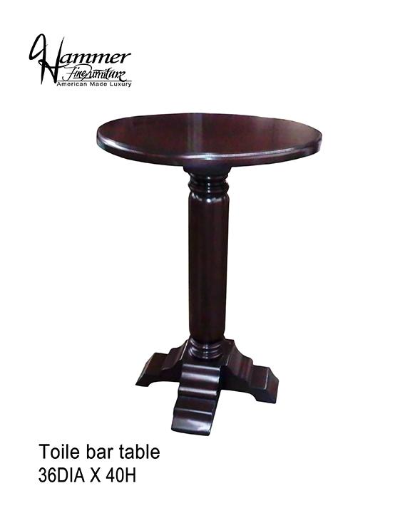 Toile Bar Table