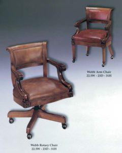 Webb Arm & Rotary Chairs