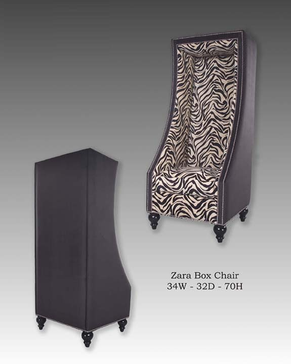 Zara Box Chair