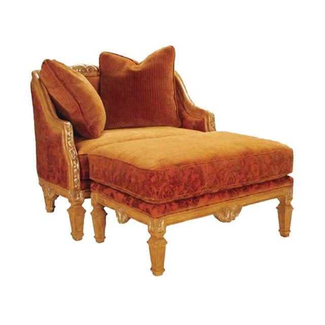 Amelia Lounge Chair and Ottoman
