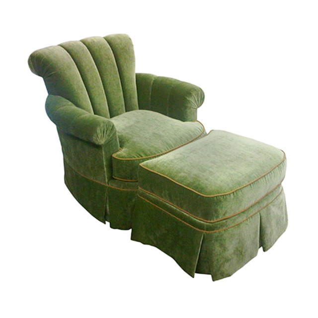 Barclay Lounge Chair and Ottoman
