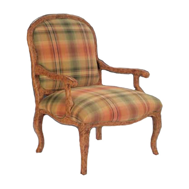 Cross Bergere Chair