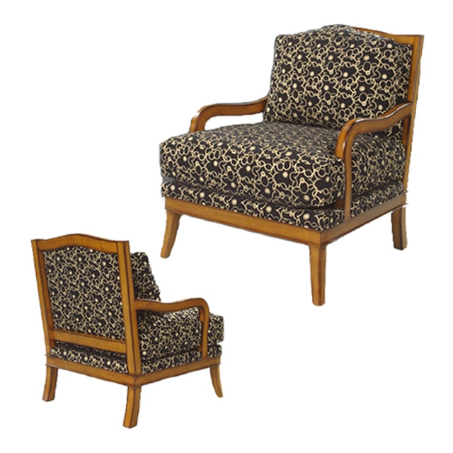 Forbes Bergere Chair