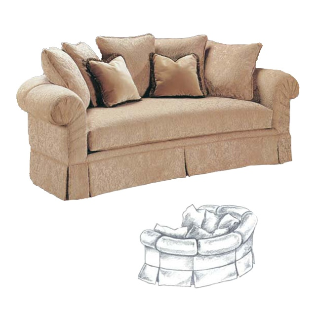 Harmony Sofa-Curved