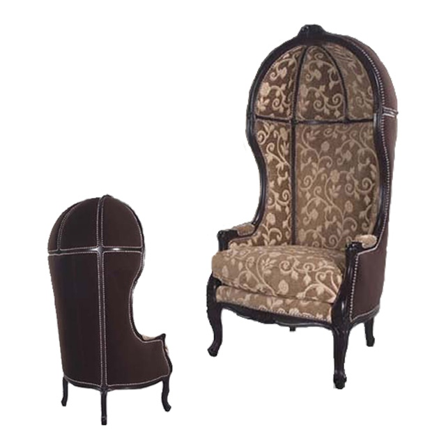 Hooded Wing Chair