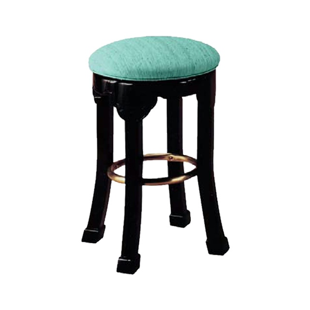 Peking Backless Barstool