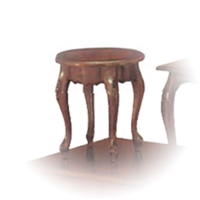 Quintessa End Table-Round