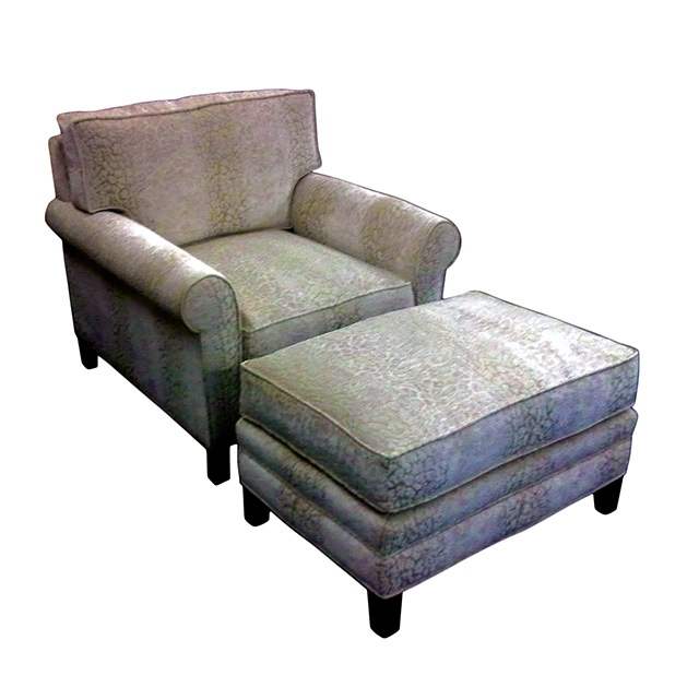 Stokes Lounge Chair and Ottoman